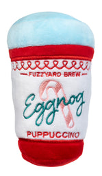 Egg Nog Puppuccino Dog Toy