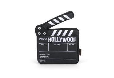 Hollywoof Director Film Slate Plush Dog Toy