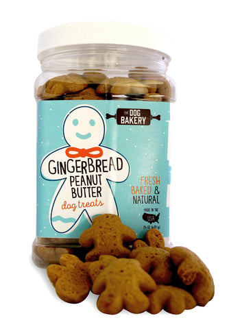 Ginger Peanut Butter Dog Treats