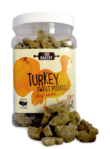 Turkey Sweet Potato Dog Treats