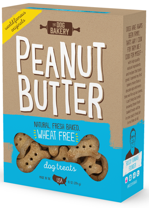 Peanut Butter Wheat Free Small Batch Bone Treats