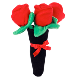Bouquet of Roses Valentine's Dog Toy