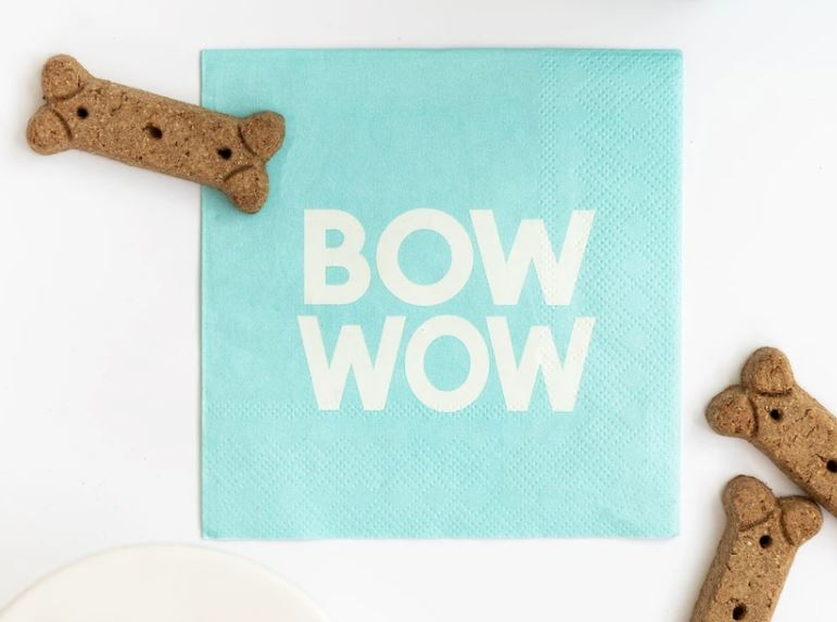 Bow Wow Napkins