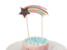 Shooting Star Cake Topper For Dogs