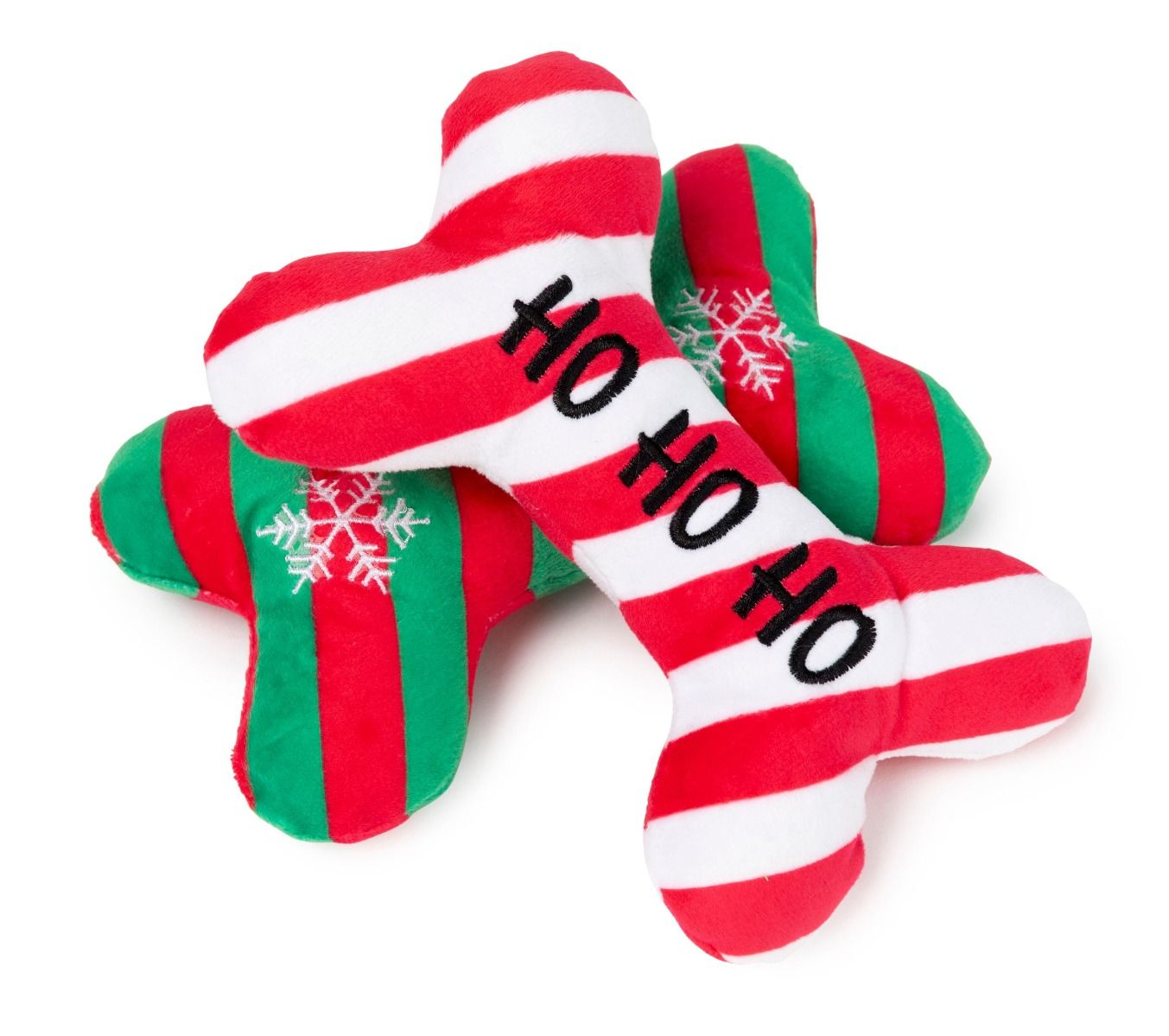 Ho HO HO & Snow Flake Bones - 2 Pack