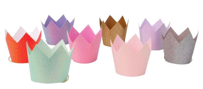 Glitter Party Crowns For Dogs
