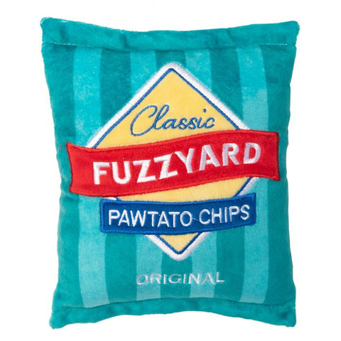 Fuzzyard Pawtato Chip Toy