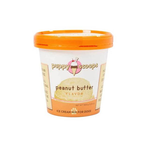 Ice Cream for Dogs - Peanut Butter