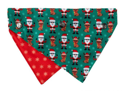 Too Cool Santa & Rudolph Bandana