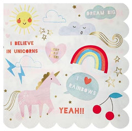I Believe in Unicorns Napkins
