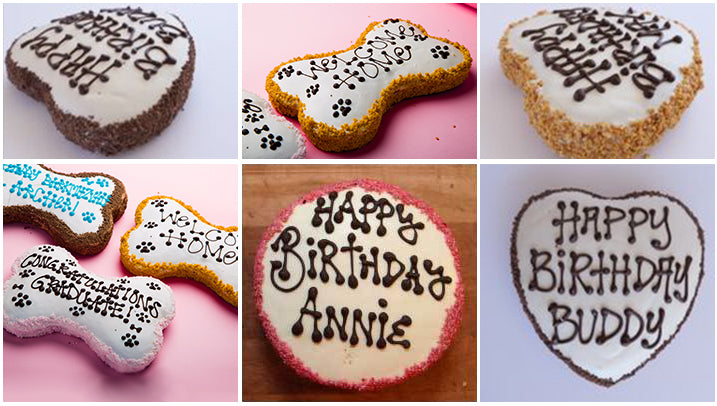 Astonishing Order Birthday Cake For Dogs And Puppies From The Dog Bakery Funny Birthday Cards Online Inifodamsfinfo