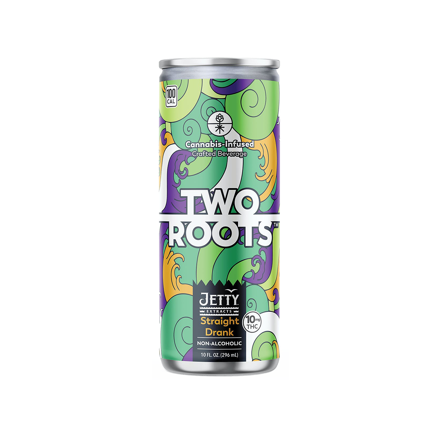 "Two Roots ""Straight Drank"" IPA – 10mg THC"