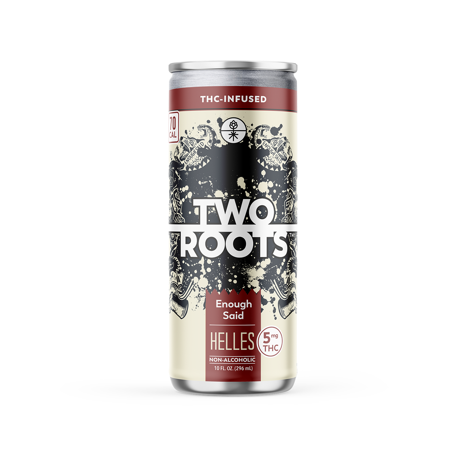 "Two Roots ""Enough Said"" Helles – 5mg THC"