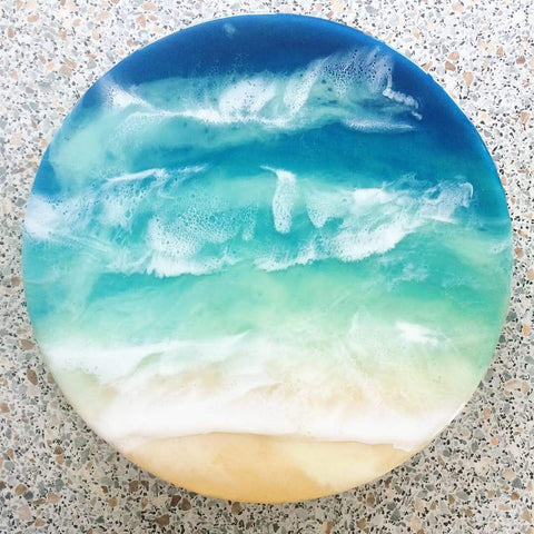 The Waikiki - Resin Wall Hanging