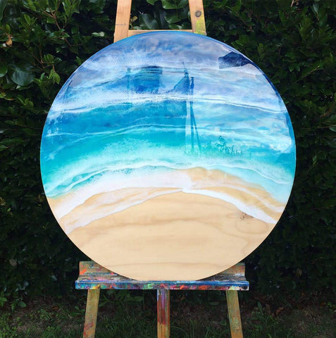 Large Resin Beach Wall Hanging