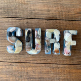 Resin Beach Shell Words