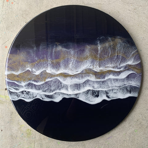 The Midnight Shore - Large Resin Wall Hanging