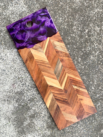 Large Rectangular Purple Grazing Board