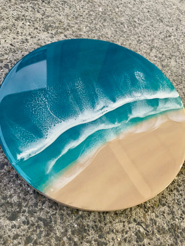 Mini Resin Beach - Resin Wall Art