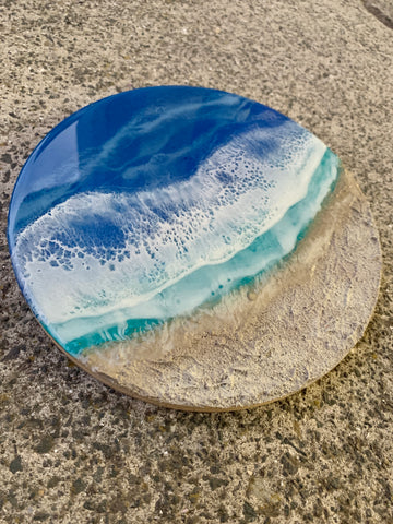 Mini Sandy Beach - Resin Wall Art