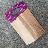 Pink Purple Sparkle Serving Board