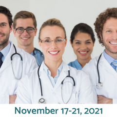 November 17-21, 2021  review course for AMA category 1 CME hrs in Charlotte, NC