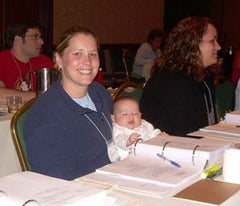 OB/GYN mom and exam candidate during our 5 day review course in Charlotte, NC