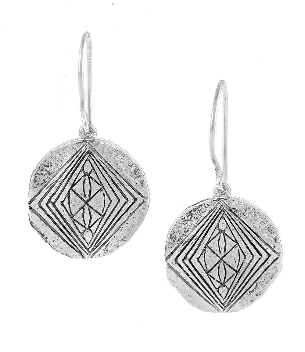 DIVINE GRACE EARRINGS SILVER