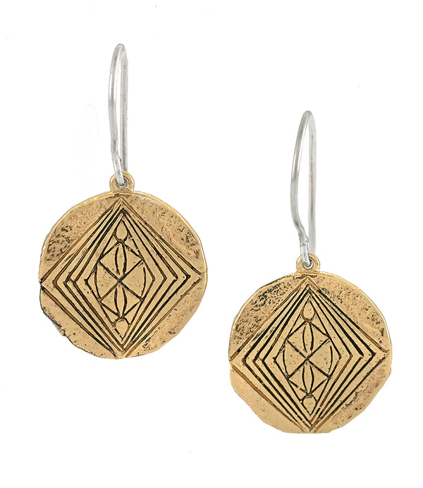 DIVINE GRACE EARRINGS GOLD