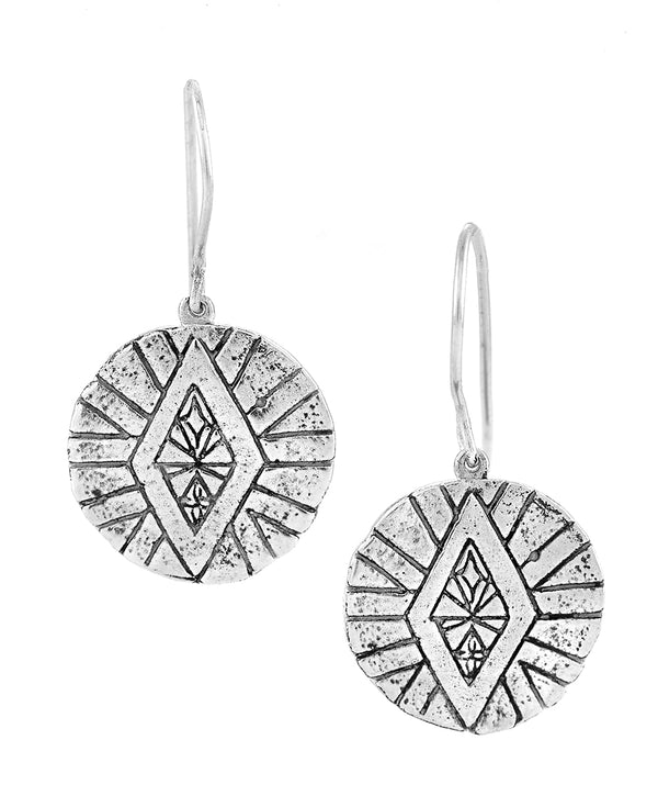 DIVINE ABUNDANCE EARRINGS SILVER
