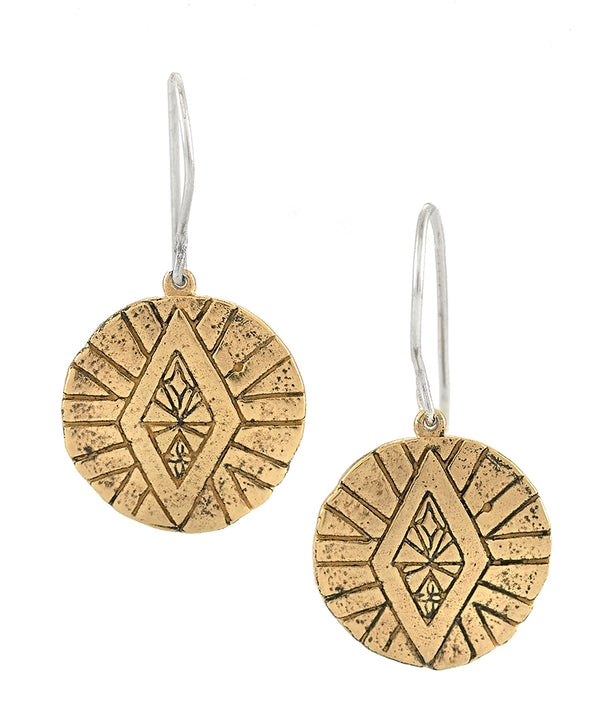 DIVINE ABUNDANCE EARRINGS GOLD