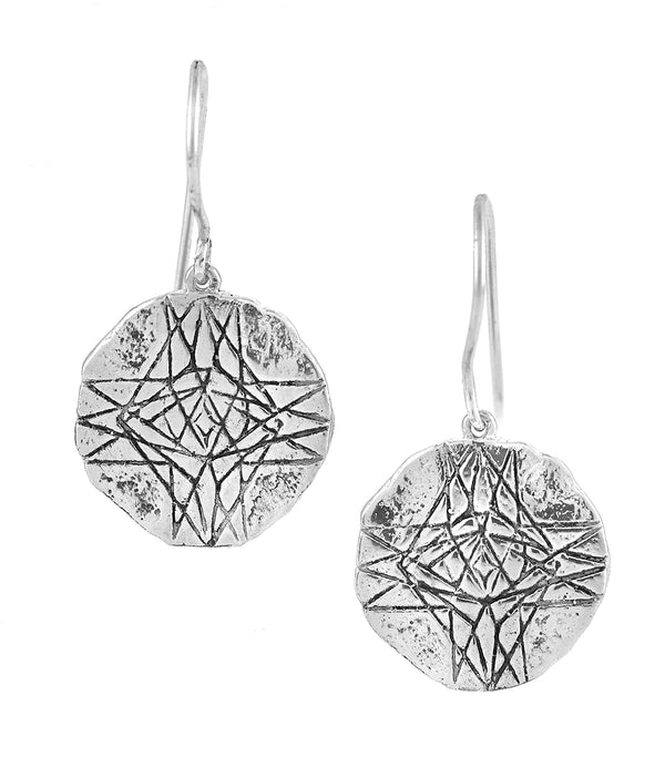 DIVINE LOVE EARRINGS SILVER