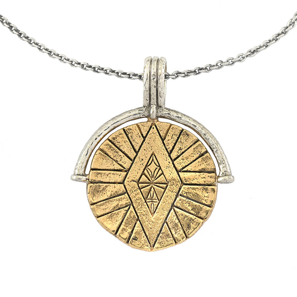 DIVINE ABUNDANCE MEDALLION COIN NECKLACE