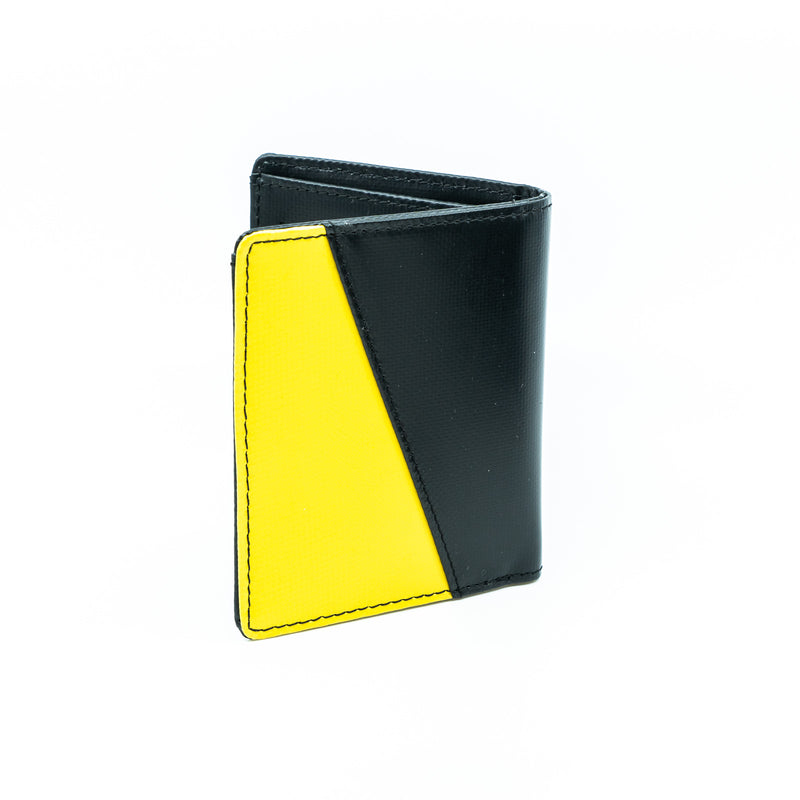 EMV Bi-fold wallet - Yellow