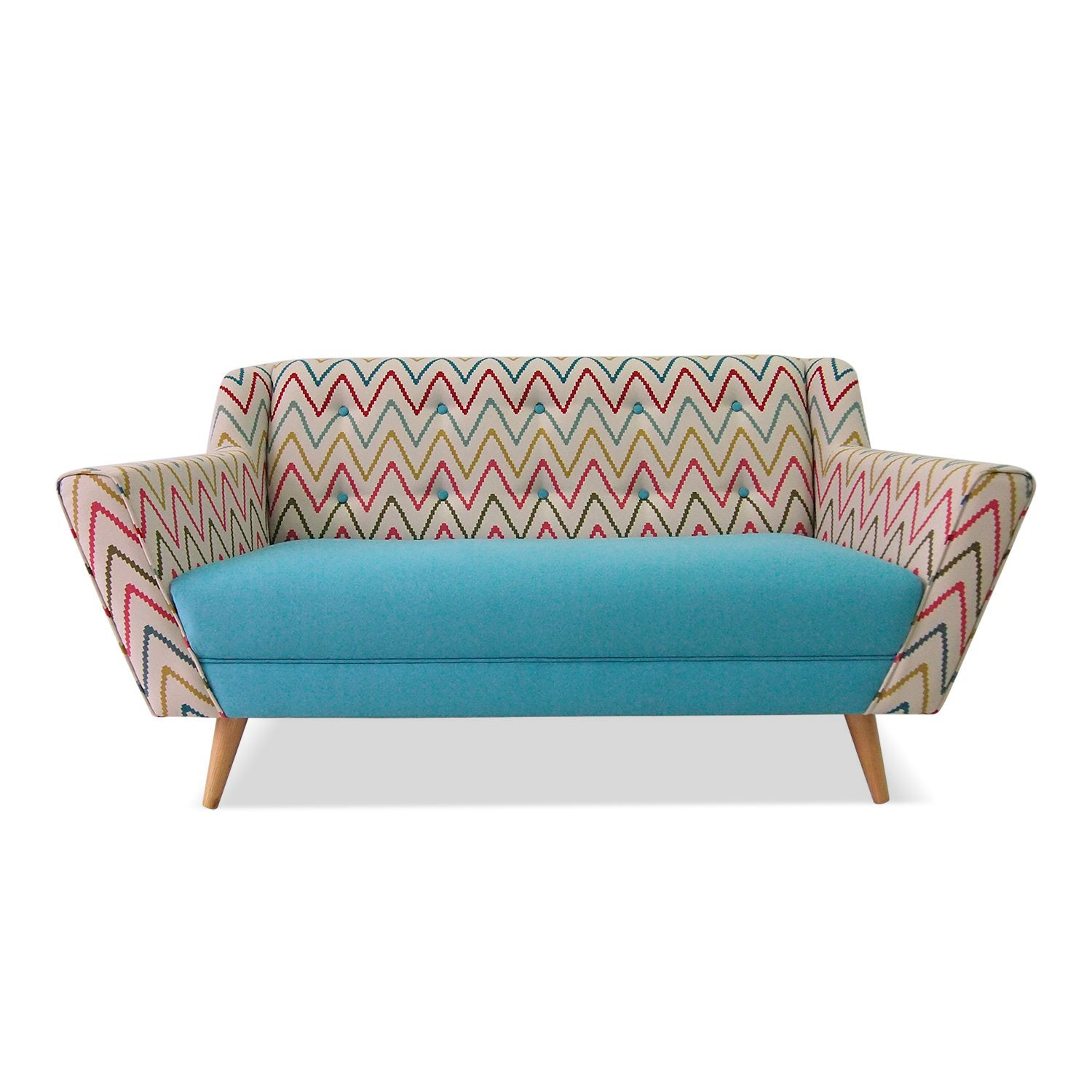Hester Chevron sofa
