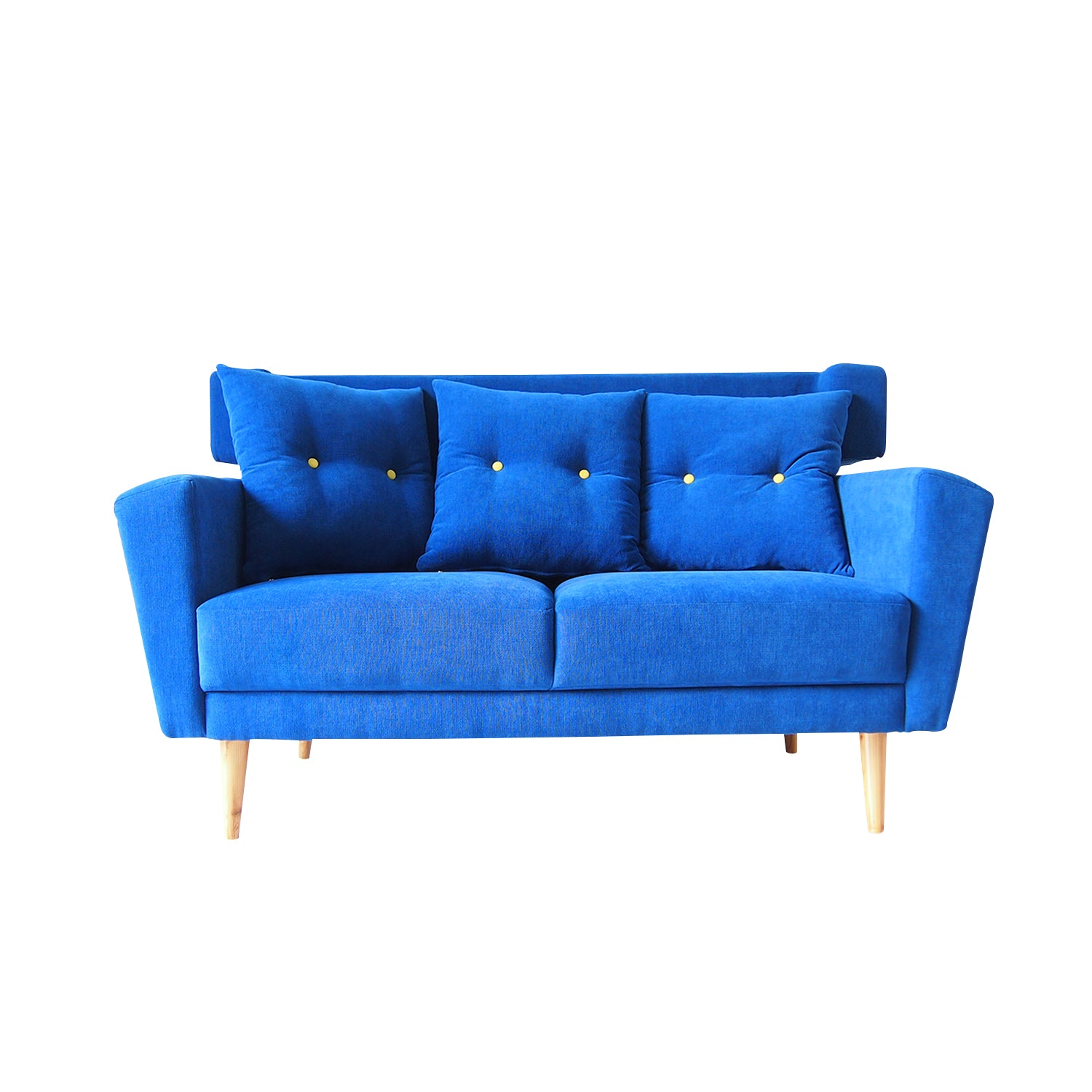 Mirela Blue Sofa