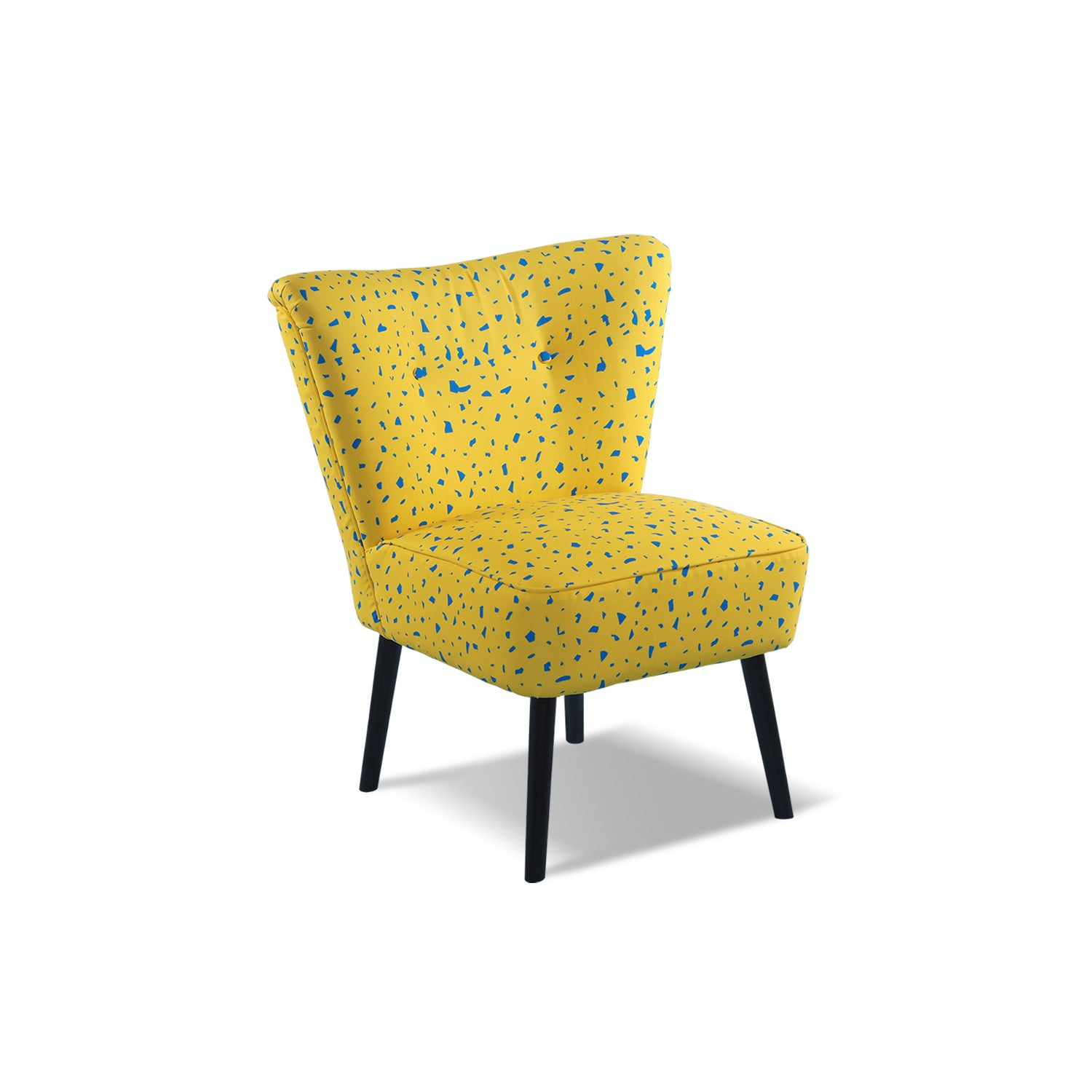 Yellow bg Cocktail Chair