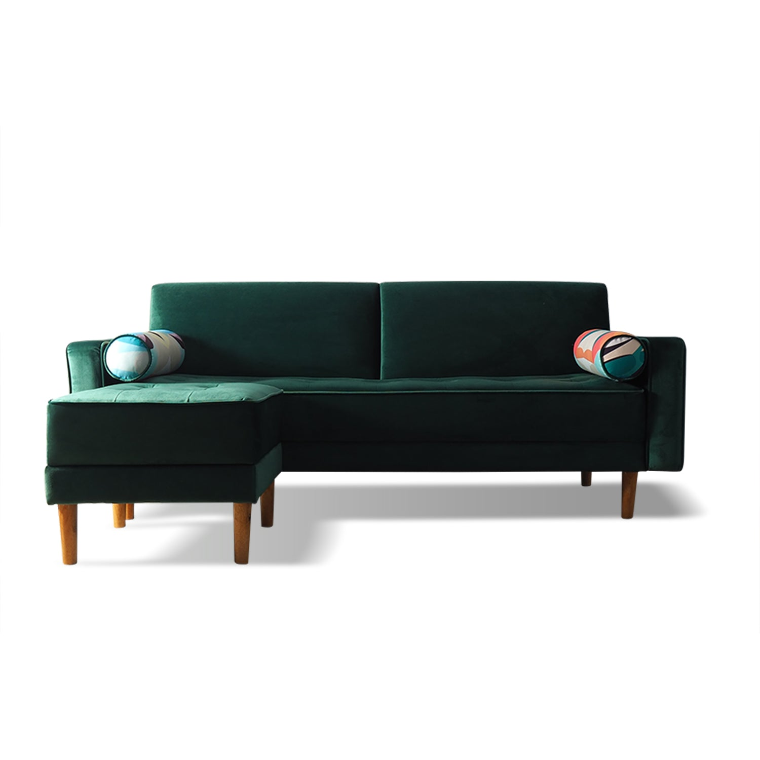 Sofa L Green Amandeus