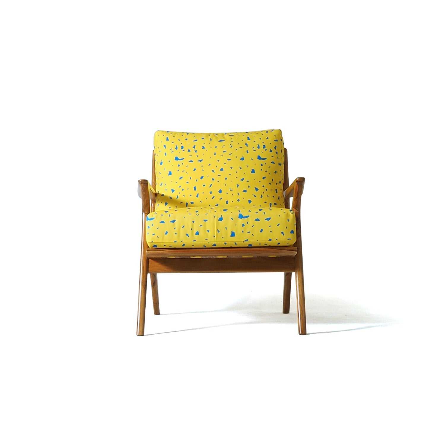 Armchair Yellow Terrazo