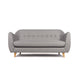 Scandi 2 Seater Grey