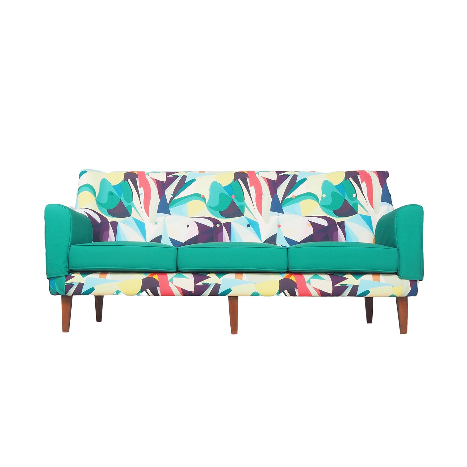 Green All Sofa 3 Seater