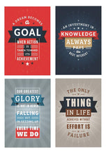 Load image into Gallery viewer, Motivational Posters with Quotes- 12 x 18 inch (Pack of 10)