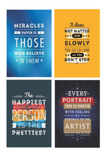 Load image into Gallery viewer, Motivational Posters for home and office- 12 x 18 inch (Pack of 10)