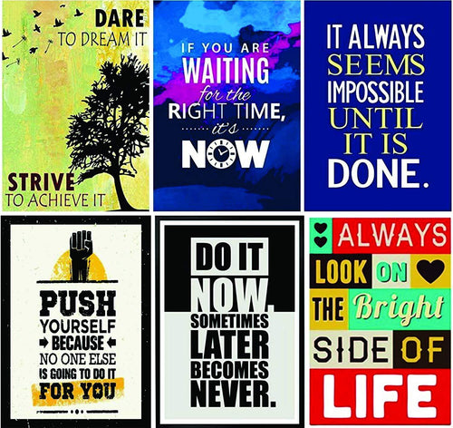 Inspirational Posters (Set of 6)