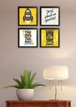 Load image into Gallery viewer, Framed Quote Poster Gift Set 10 inch x 10 inch