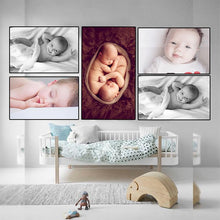 Load image into Gallery viewer, Cute Baby Combo Poster Set of 5 Poster