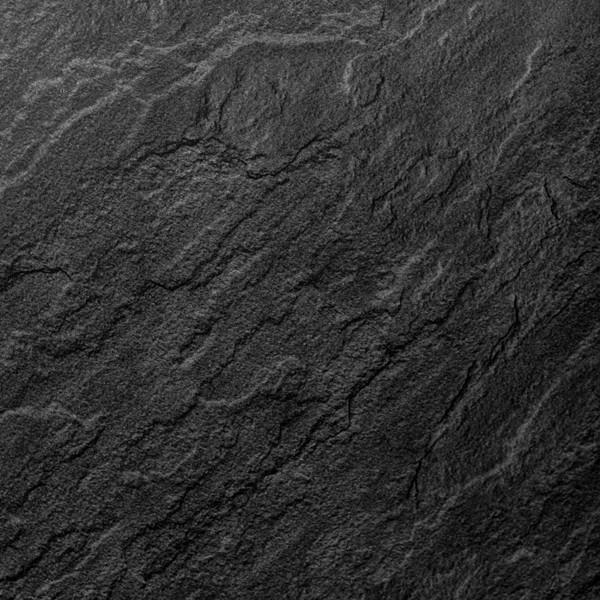 Slate Dark Grey Charcoal Bathroom Wall Panels PVC 5mm Thick Cladding 2.6m x 250mm - Claddtech