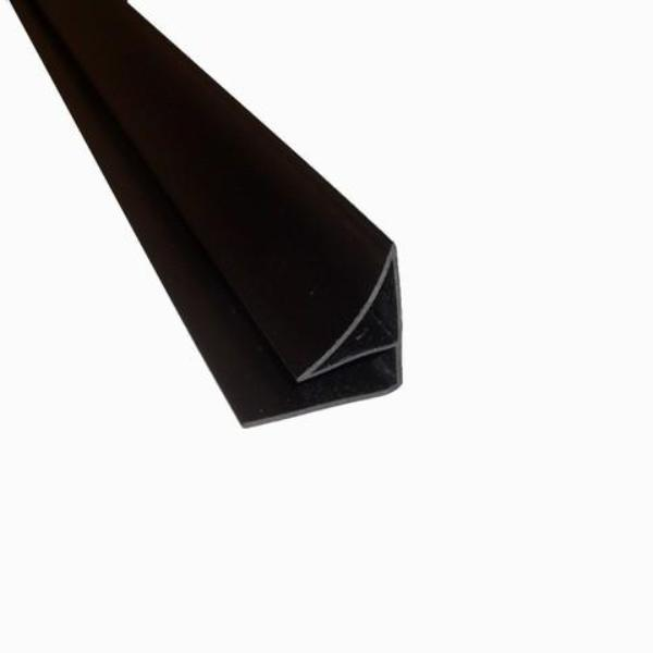 Coving 5mm in a Black Finish For 5mm Wall and Ceiling Panels 2.6m Long - Claddtech