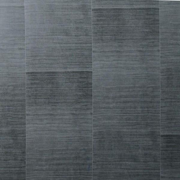 Dark Grey Large Tile 5mm PVC Wall Panels For Walls - Claddtech