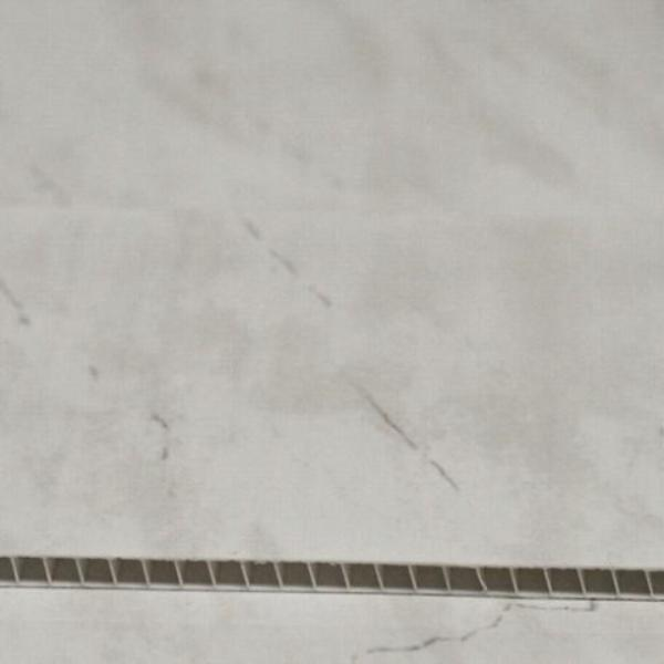 Light Grey Marble 5mm Ceiling Cladding For Bathrooms - Claddtech